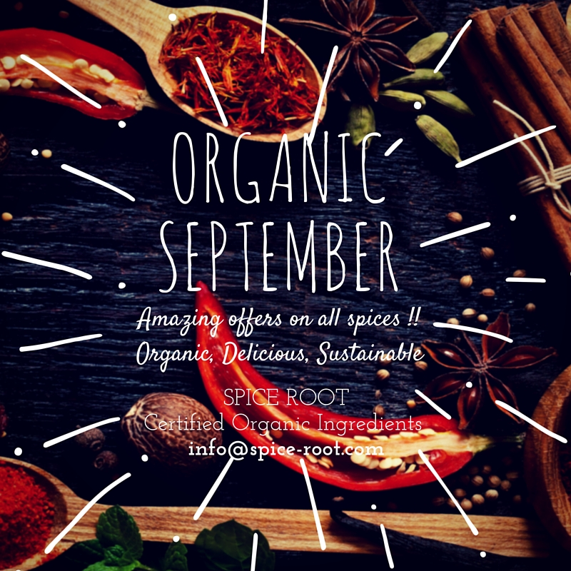 Organic September-In a gentle way you can shake the world.