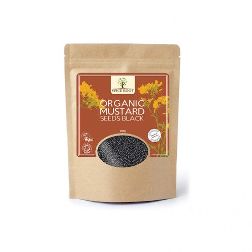 Organic Mustard Seeds Black 250 gm