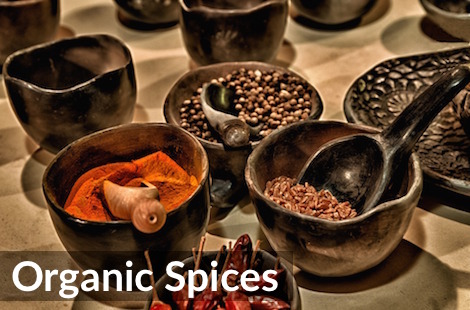 Rich & Flavourful Organic Spices