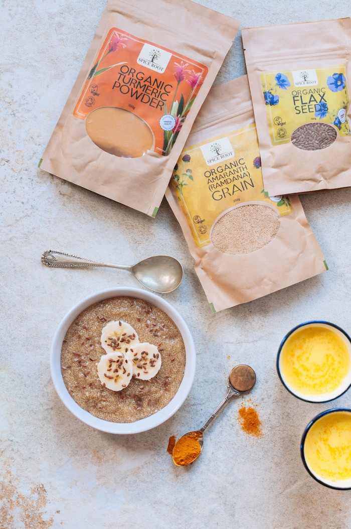Spice Root's Organic Healthy Breakfast Kit (Gift Pack)