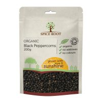 Organic Black Peppercorns 200g